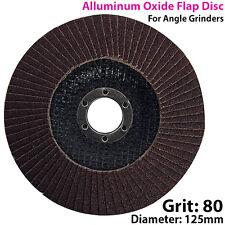 125mm 80 GRANA di ossido di alluminio Flap Disc-la levigatura/SANDER-per smerigliatrice angolare