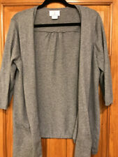 Oh Baby By Motherhood Gray Cardigan Sweater Large