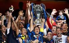 POSTER FC INTER ZANETTI CHAMPIONS LEAGUE 2010 MOURINHO SOCCER FOOTBALL CALCIO