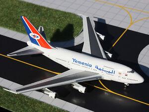 Gemini Jets Yemenia Boeing 747SP 70-YMN 1/400 Scale Model Aircraft GJIYE341