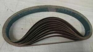 25mm x 760mm ABRASIVE SANDING BELT- Al/Oxide, Zirc, Ceramic, SCM- Various Grades