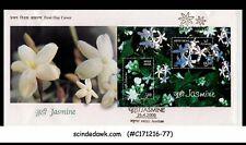 INDIA - 2008 JASMINE / FLOWER - Miniature sheet on FDC