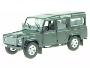 Land Rover Defender 110 grün Modellauto Diorama Altaya 1:43