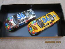2 Racing Champions Nascar  Ernie Irvan #36 M&M Pontiac 1:24 Silver Chrome Stock