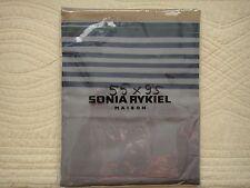 """1 TAIE D'OREILLER 55x95 SONIA RYKIEL """"RUE DE SEINE"""" BEIGE NEUVE"""