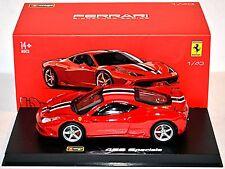 Ferrari 458 Speciale 2013-15 rosso rosso 1:43 Bburago Signature Series