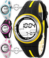 XONIX GRP WR100M Unisex Pedometer Step Counter Watch Many Features & Precise
