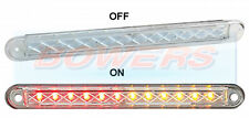 LED Autolamps 12V sottile compatta Flush Fit ad incasso POSTERIORE STOP TAIL spia luminosa