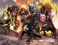 MARVEL LEGACY #1 MIKE DEODATO 1:500 WRAP-AROUND VARIANT NM GHOST RIDER HULK ODIN