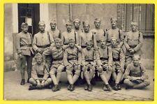 cpa Carte Photo Craneguy à FONTAINEBLEAU MILITAIRES SOLDATS du 32e Régiment