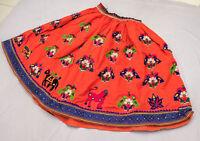 Belly Dance Rabari Ethnic Banjara Tribal Boho Gypsy Embroidery India Kuchi Skirt