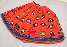 Belly Dance Rabari Ethnic Banjara Tribal Boho Gypsy Embroidery India Kuchi Skirt