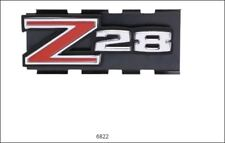 """1972-1973 Camaro """" Z-28 """" Front Grille Emblem w/Hardware Made in USA"""