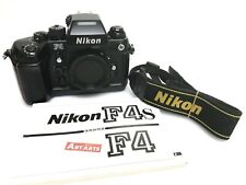 【 EXCELLENT++++ w/ STRAP 】 Nikon F4 35mm SLR Film Camera Black Body from JAPAN