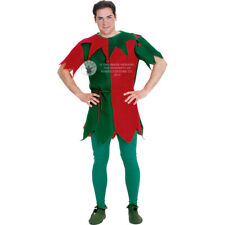 Mens Elf Christmas Costume
