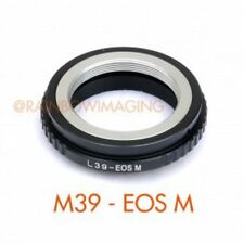 Leica M39 L39 Lens to Canon EOS M EF-M Mount Mirrorless Camera Adapter