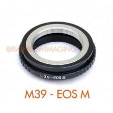 Leica M39 L39 Lente para Canon EOS M EF-M Monte Adaptador de Cámara sin espejo
