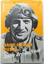 Hans Ulrich Rudel WWII German Stucker Pilot Awarded Iron Cross Signed Book Rare