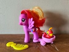 My little pony G4 Feathermay with Animal Parrot and wagon Rare