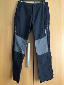 Montane Mens Terra Stretch Walking Hiking Pants Trousers - Regular Leg - L Large