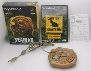 PS2 Seaman Limited Edition w/ Special Controller Japan import PlayStation2