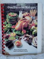 Lindale Texas Duck Creek Baptist Church Cookbook Vintage Recipes 1987 Community