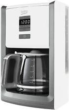 Beko CFM6151W Aroma Sense Filter Coffee Machine - 1000w - White  -Energy Class A