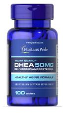 DHEA 50 mg 100 comp.  Antiedad, Antioxidante, Envio Certificado