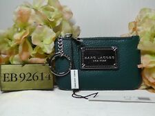 Marc by Marc Jacobs Classic DEEP SEA Leather Key Pouch*****NEW*****$100*****