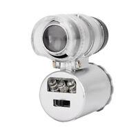 Mini Microscopio 60X Magnifier LED con Lente di Ingrandimento Illuminata Loupe