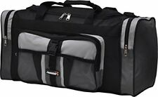 24  foolsGold  Sports Gym School Holdall Weekend overnight Travel Work Bag in Gr