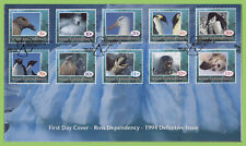 Ross Dependency 1994 Wildlife set on First Day Cover