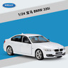 Welly 1:24 BMW 335i Metal Diecast Model Car New in Box White