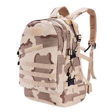 45L Military Tactical Backpack Sport Rucksack Travel Camping Hiking Shoulder Bag