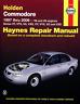 Haynes Workshop Manual Holden Commodore 1997-2006 V6 & V8 Service Repair