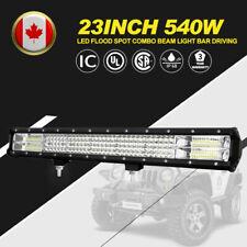 "23"" 540W LED Flood Spot Combo Beam Light Bar Driving Light for Off-road Vehicles"