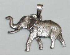 Elephant Harris Fine Pewter Pendant USA Made