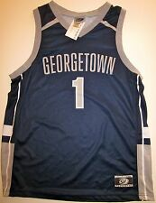 GEORGETOWN HOYAS BASKETBALL JERSEY NCAA #1 MEN'S LARGE NEW W/TAGS!
