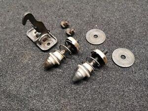 VW CORRADO G60 hood locking pins kit with safety lach 535823507