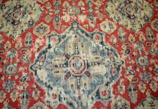 Red Medallion Damask Print Massimo Moroccan Red Covington Fabric