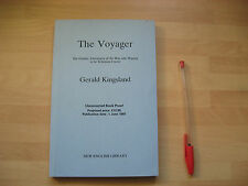 Gerald Kingsland - The Voyager 1987 uncorrected proof (Castaway Robinson Crusoe)