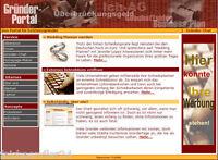 EXISTENZ-GRÜNDER PORTAL WEBSEITE WEBSITE HOMEPAGE HTML WEBDESIGN E-LIZENZ NEU