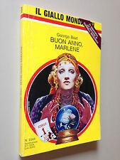 George BAXT - BUON ANNO MARLENE ,  Giallo Mondadori n. 2344 (1994)