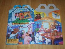 "Vintage McDonald's Hook ""Wendy's London House"" Happy Meal Box 1991"