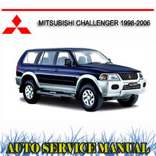 MITSUBISHI CHALLENGER 1998-2006 SERVICE REPAIR MANUAL ~ DVD