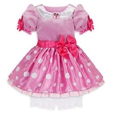 3 pc Disney Store Minnie Mouse Baby girl dress Costume 6-12 MO