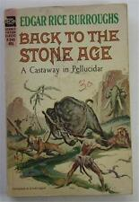 BACK TO THE STONE AGE EDGAR RICE BURROUGHS ERB 1963 ACE #F-245 1ST ED PB