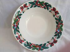 Royal Majestic HOLIDAY CHEER Vegetable Serving Bowl 8406 Dinnerware