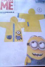 Vêtement De Pluie - Imperméable - Minion - Jaune Et Bleu - 4 ANS - Neuf Emballé