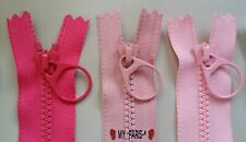 """4""""-24"""" Plastic Closed Bottom End YKK Zipper pick any color&size/Customized order"""